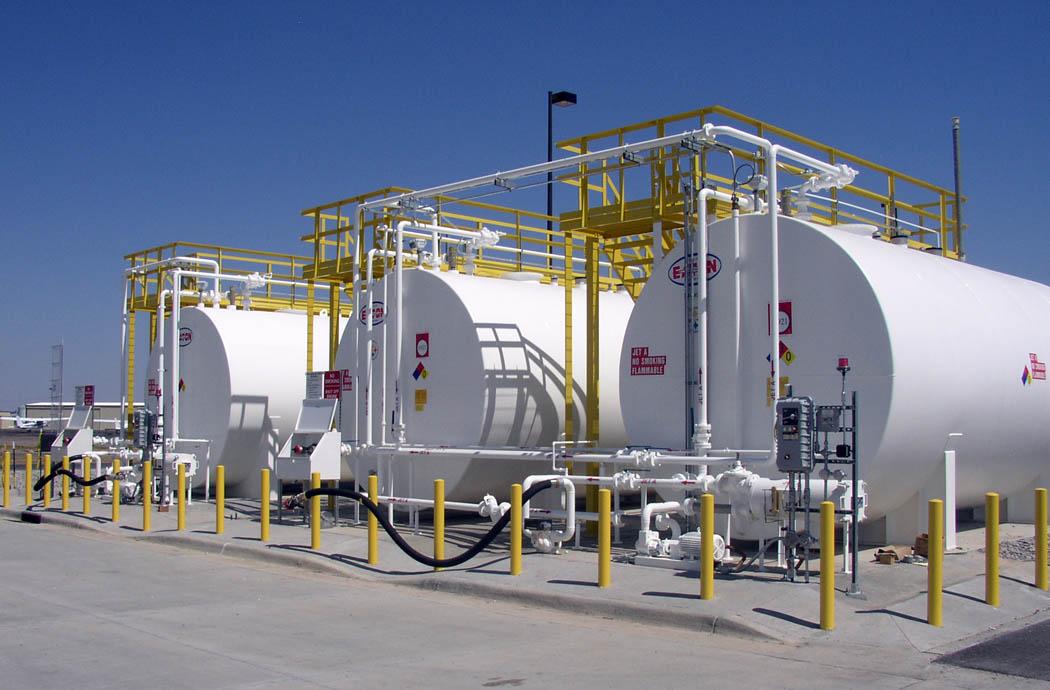 sheridan county airport fuel farm