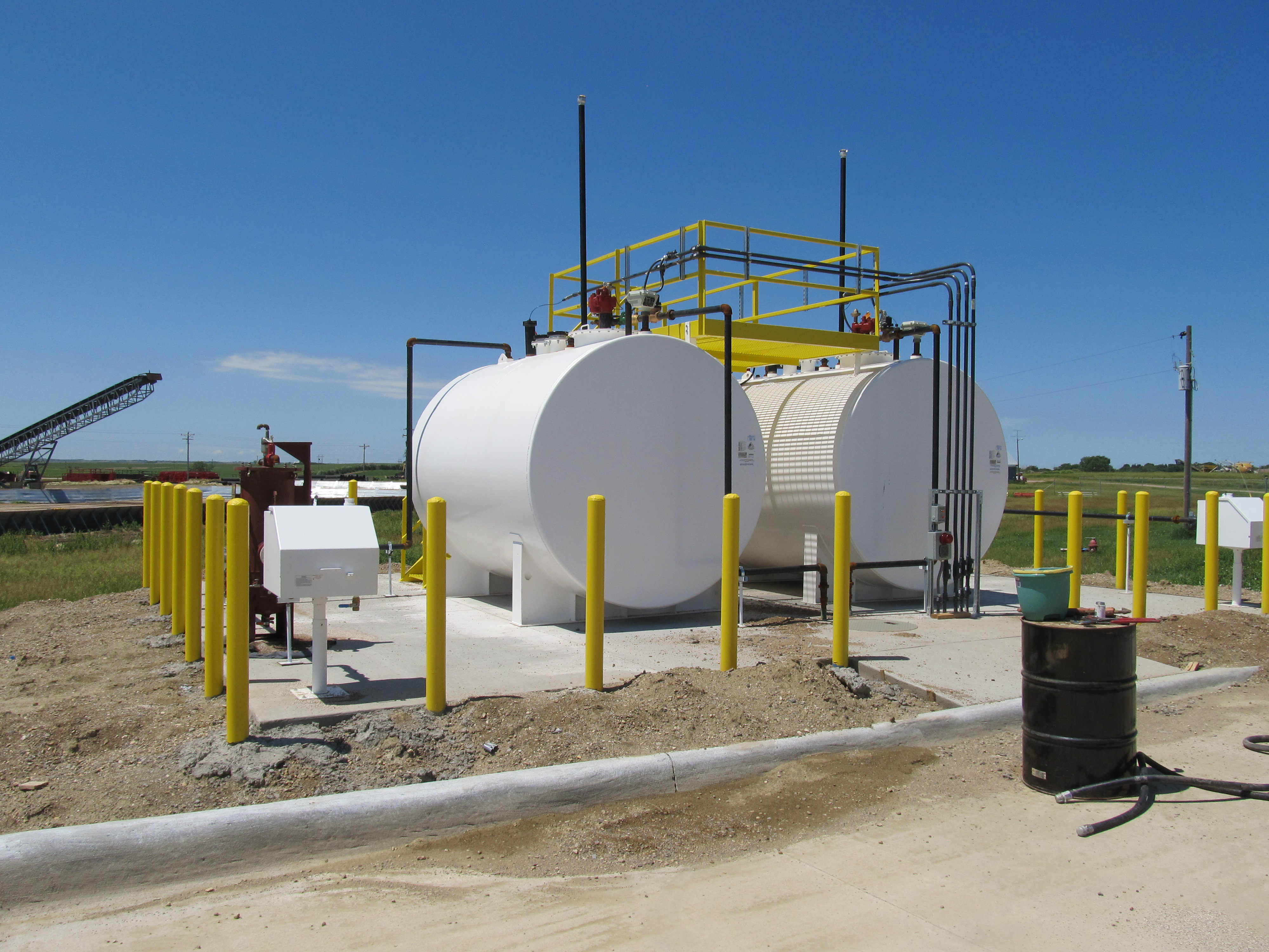 Gregory Airport Fuel Tanks West Plains Engineering